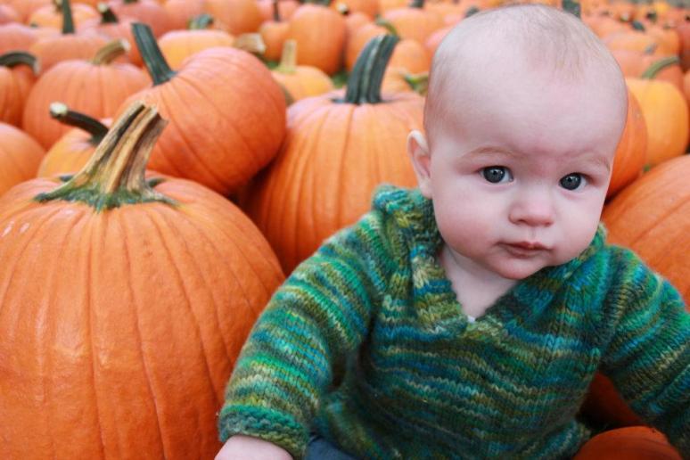 pumpkin boy